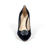 V 1969 Italia Womens Pump VELLUTO BLU ROYAL