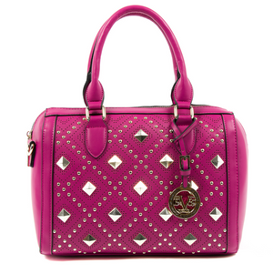 V 1969 Italia Womens Handbag Fuxia CLAIRE - Winter Haven Co