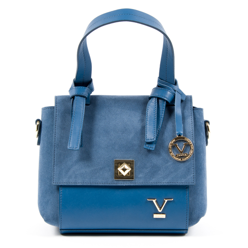 V 1969 Italia Womens Handbag Blue HOUSTON - Winter Haven Co