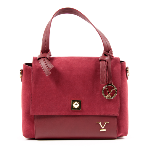 V 1969 Italia Womens Handbag Red HOUSTON - Winter Haven Co