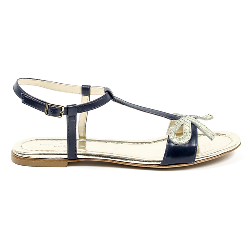 V 1969 Italia Womens Flat Sandal - Winter Haven Co