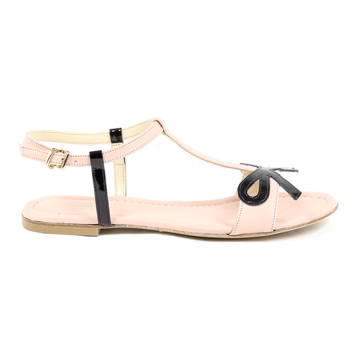 V 1969 Italia Womens Flat Sandal Pink LISA - Winter Haven Co