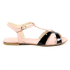 V 1969 Italia Womens Flat Sandal Pink GRAZIA - Winter Haven Co