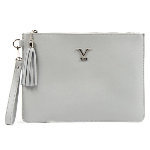 V 1969 Italia Womens Handbag Grey LIME