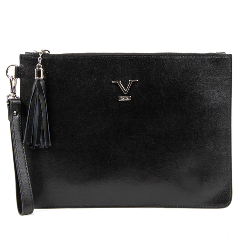 V 1969 Italia Womens Handbag Black LIME