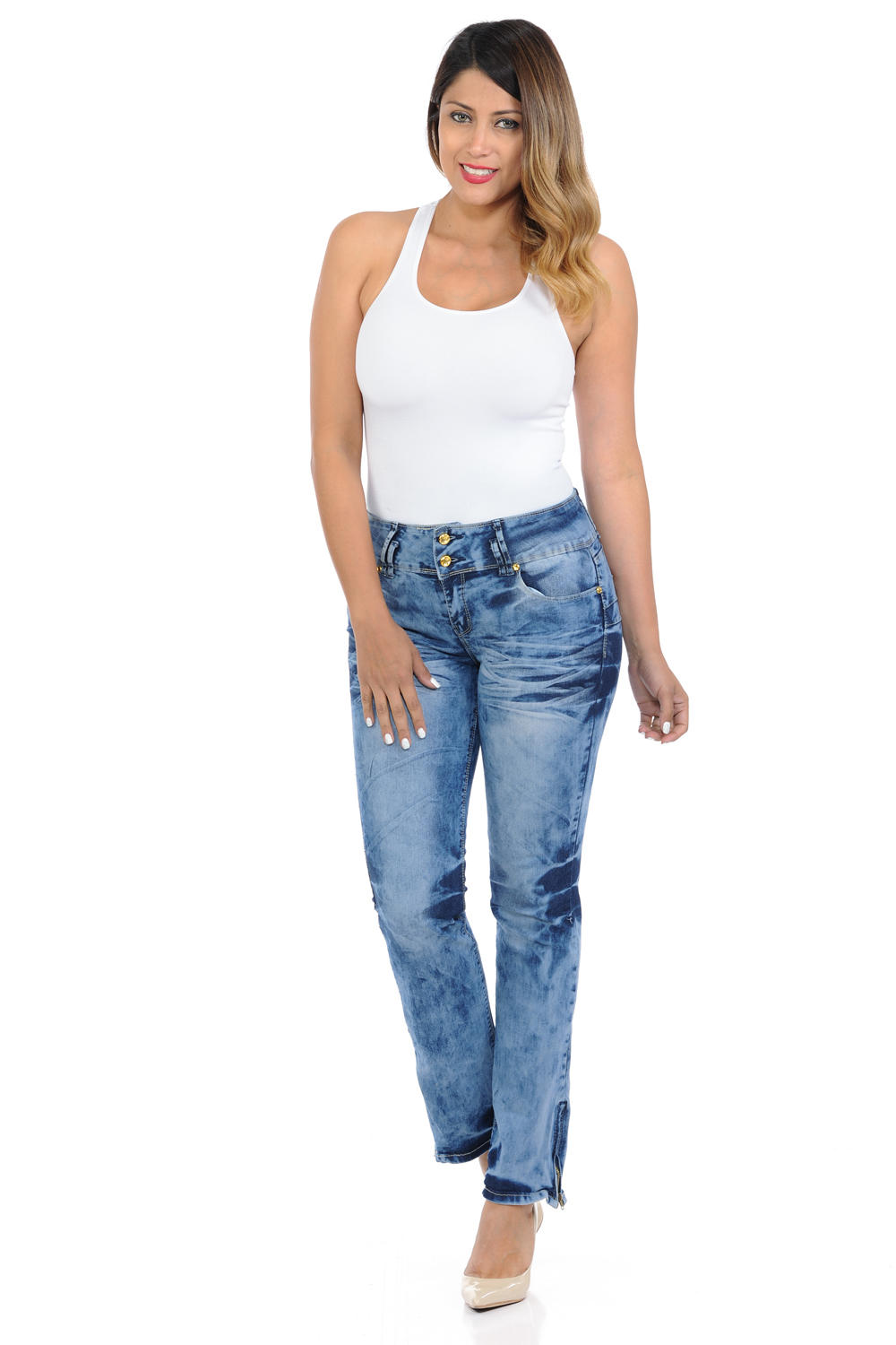 Crocker Women's Jeans - Push Up - Bootcut - Winter Haven Co