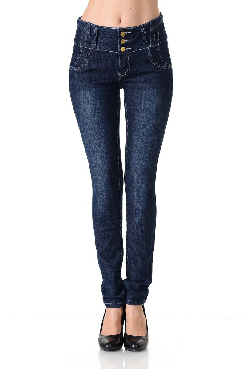Crocker Women's Jeans - Push Up - Skinny - Winter Haven Co