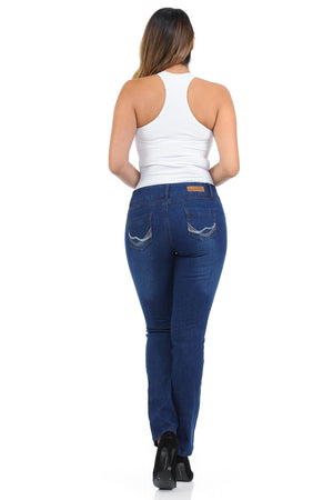 Diamante Women's Jeans - Push Up - Bootcut - Winter Haven Co