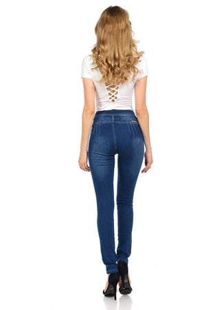 Diamante Women's Jeans - Push Up - Skinny - Winter Haven Co