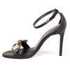 V 1969 Italia Womens Ankle Strap Sandal Black CATALINA - Winter Haven Co