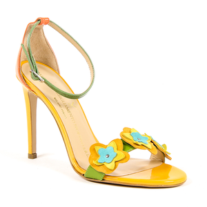 V 1969 Italia Womens Ankle Strap Sandal Multicolor CATALINA