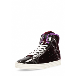 Hogan Womens Sneaker Black Rebel - Winter Haven Co