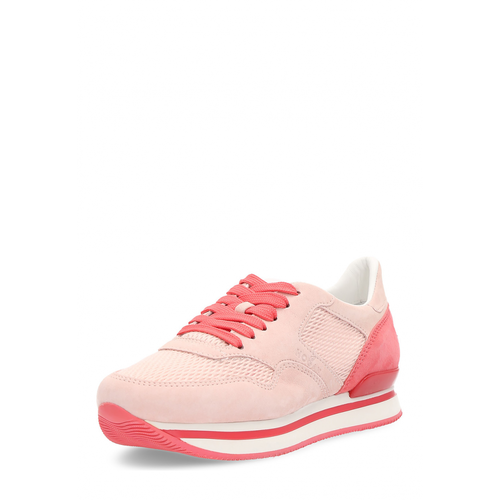 Hogan Womens Sneaker Pink - Winter Haven Co