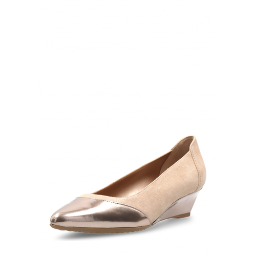 Hogan Womens Pump Beige - Winter Haven Co