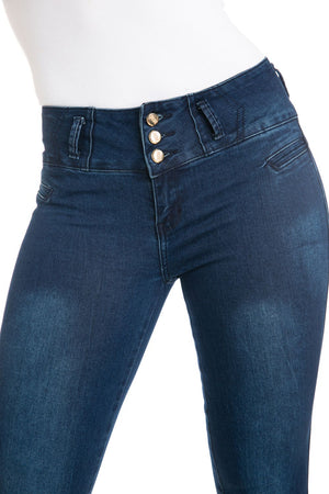 M.Michel Women's Jeans Colombian Design, Butt Lift, Levanta Cola, Push Up - Skinny - Winter Haven Co