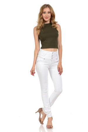 Pasion Women's Jeans - Push Up - Skinny - Winter Haven Co