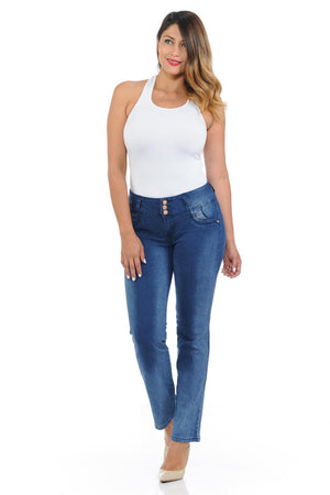 Pasion Women's Jeans - Push Up - Bootcut - Winter Haven Co