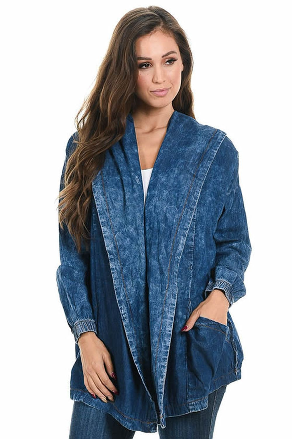 Sweet Look Women's Denim Jacket - Style K781