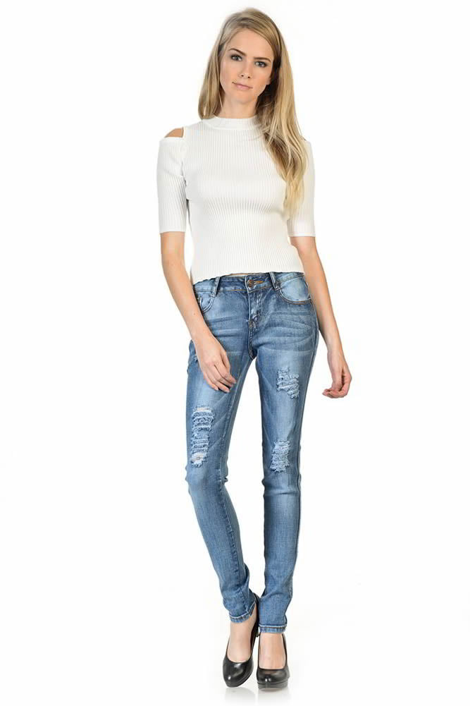 Sweet Look Premium Edition Women's Jeans - Skinny - Winter Haven Co