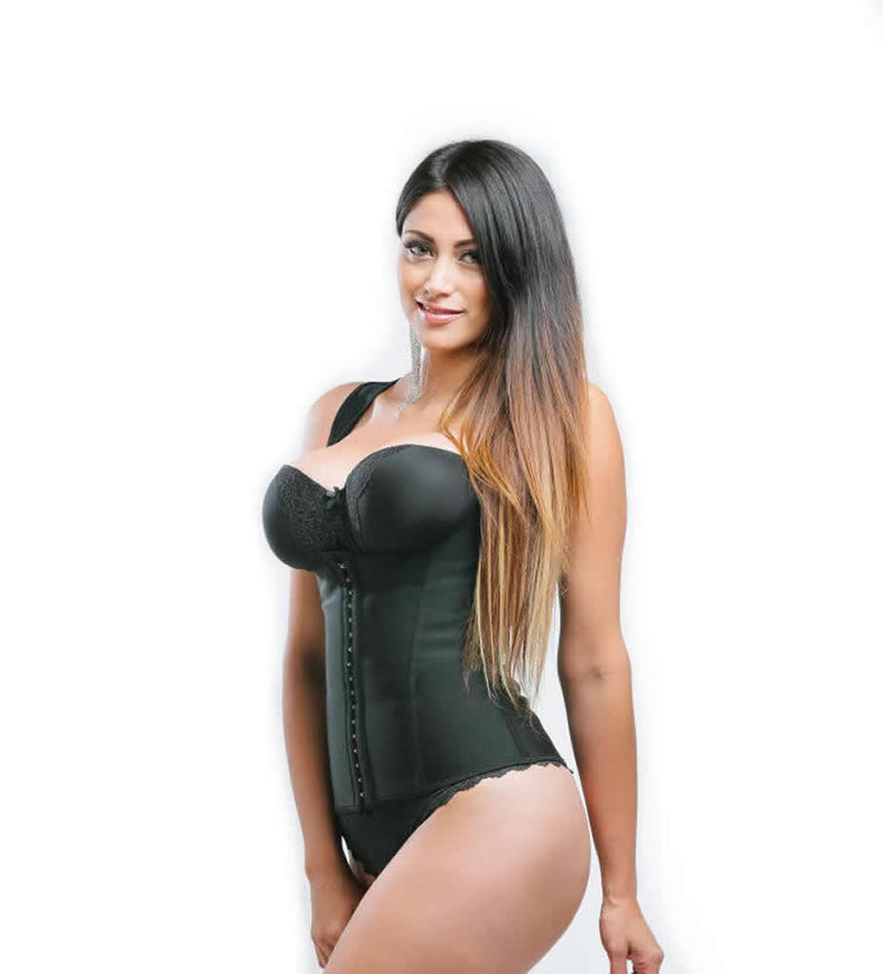 Sweet Look Women's Latex Sport Girdle Waist Training Corset Waist Body Shaper - Style RM02