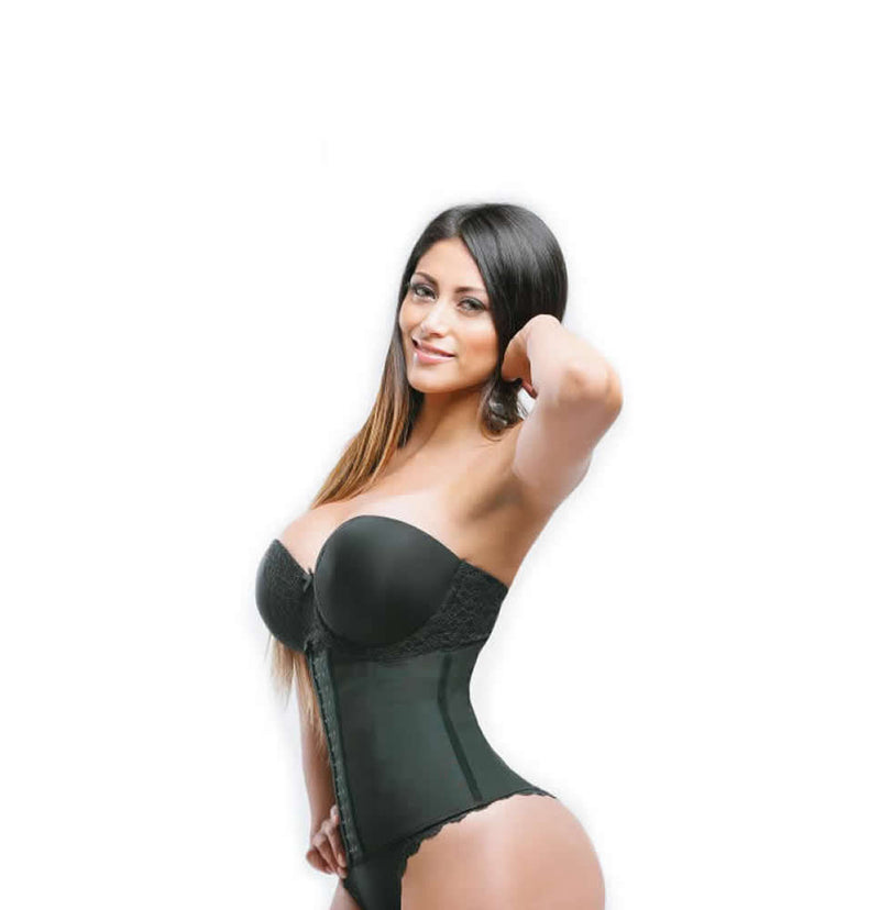 Sweet Look Women's Latex Sport Girdle Waist Training Corset Waist Body Shaper - Style RM14