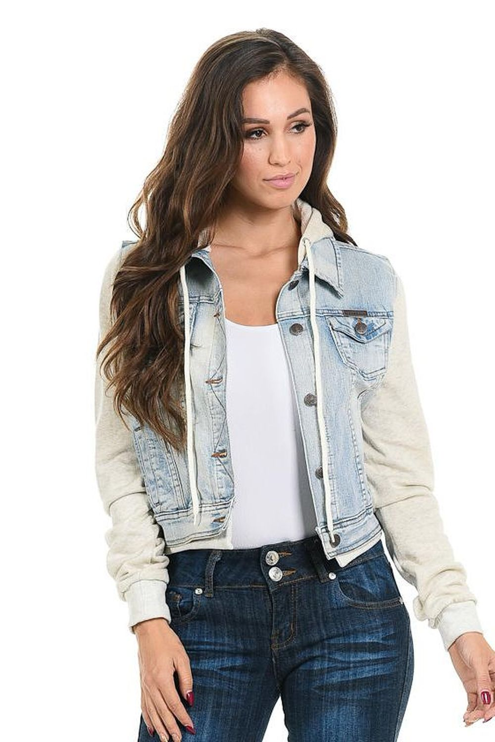 Sweet Look Women's Denim Jacket - Style 577