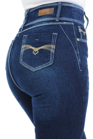 Studio Omega Women's Jeans - Push Up - Bootcut - Winter Haven Co