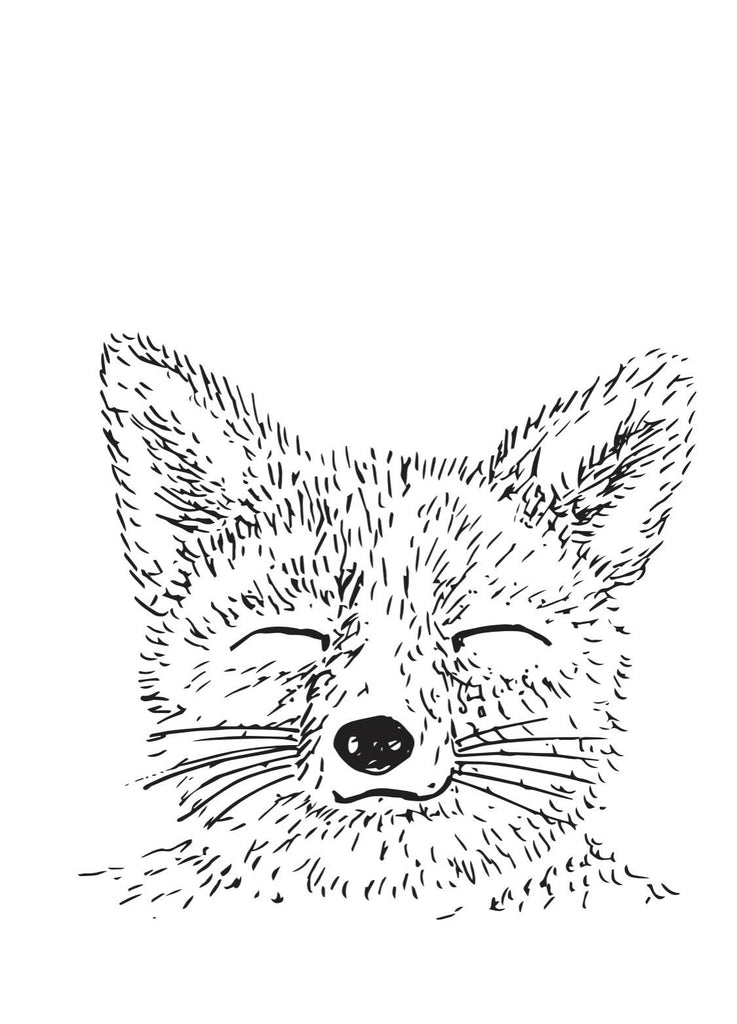 Sleepy Fox Artwork