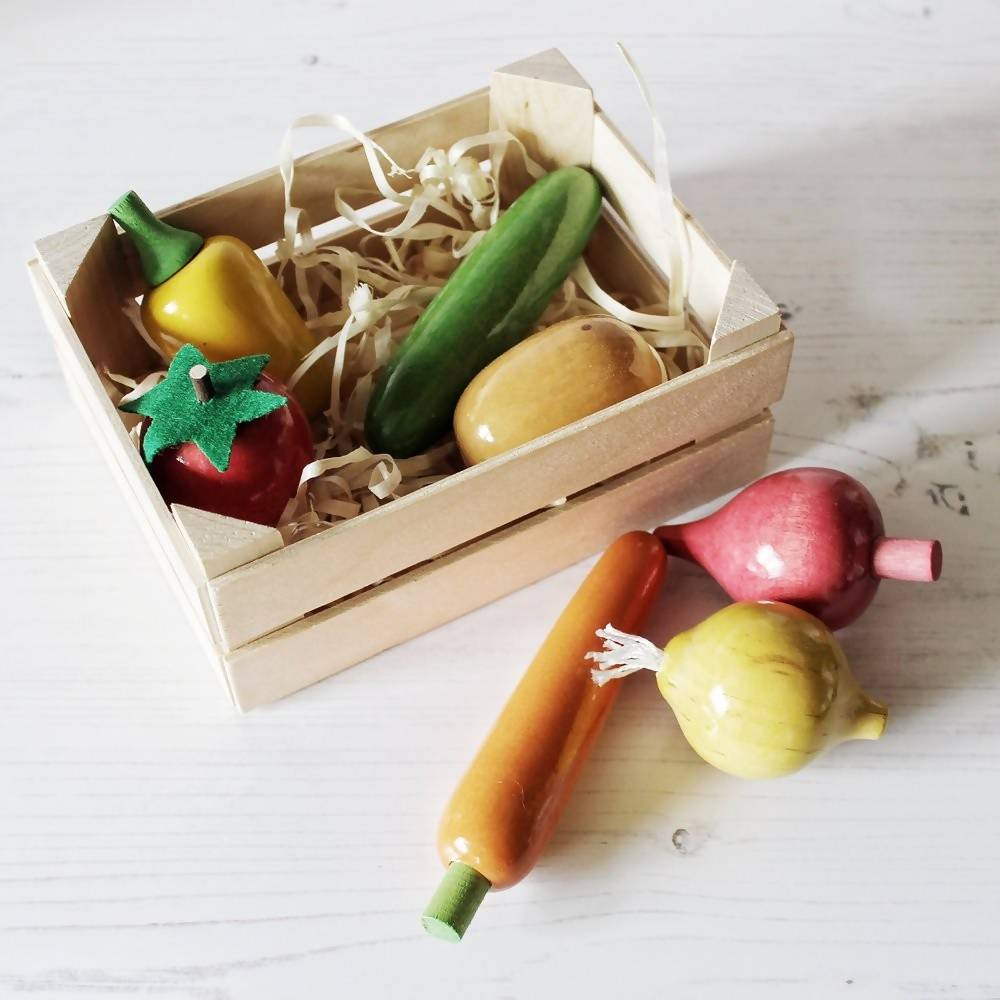 Play Kitchen Vegetable Crate