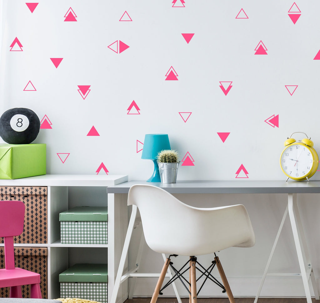 Mixed Triangle Set Decals