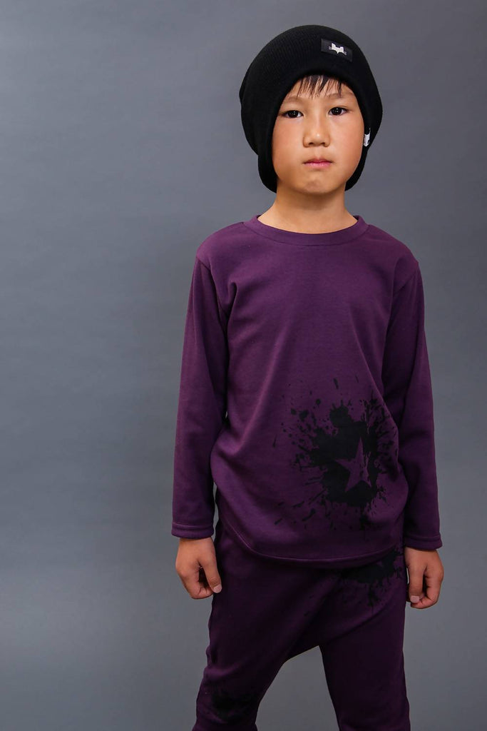 Long Sleeve Tee Star Splat