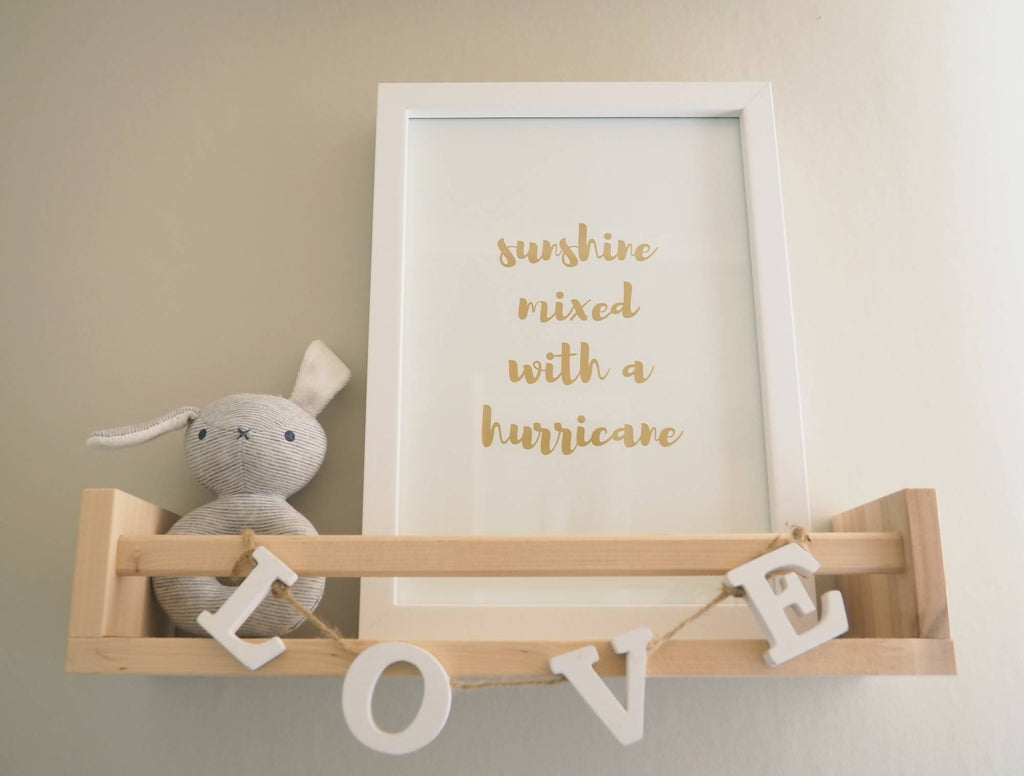 Sunshine Hurricane Framed Print