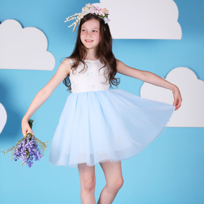 BLUEBELL TULLE CEREMONY DRESS