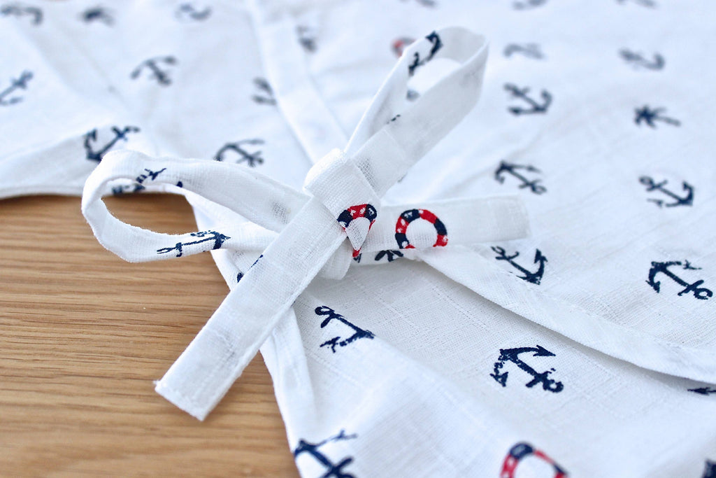 Anchor Design Japanese Baby Grow