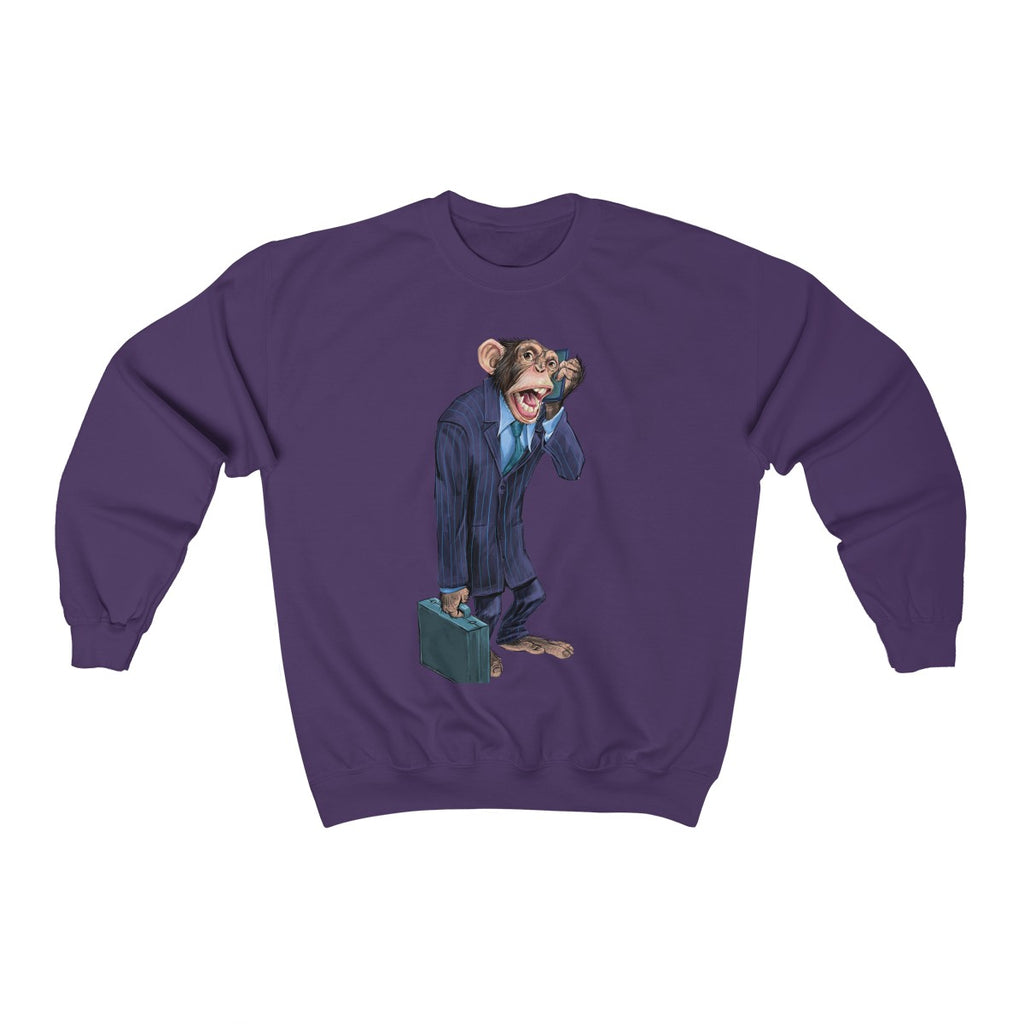 """Monkey Business"" Crewneck Premium Sweatshirt"