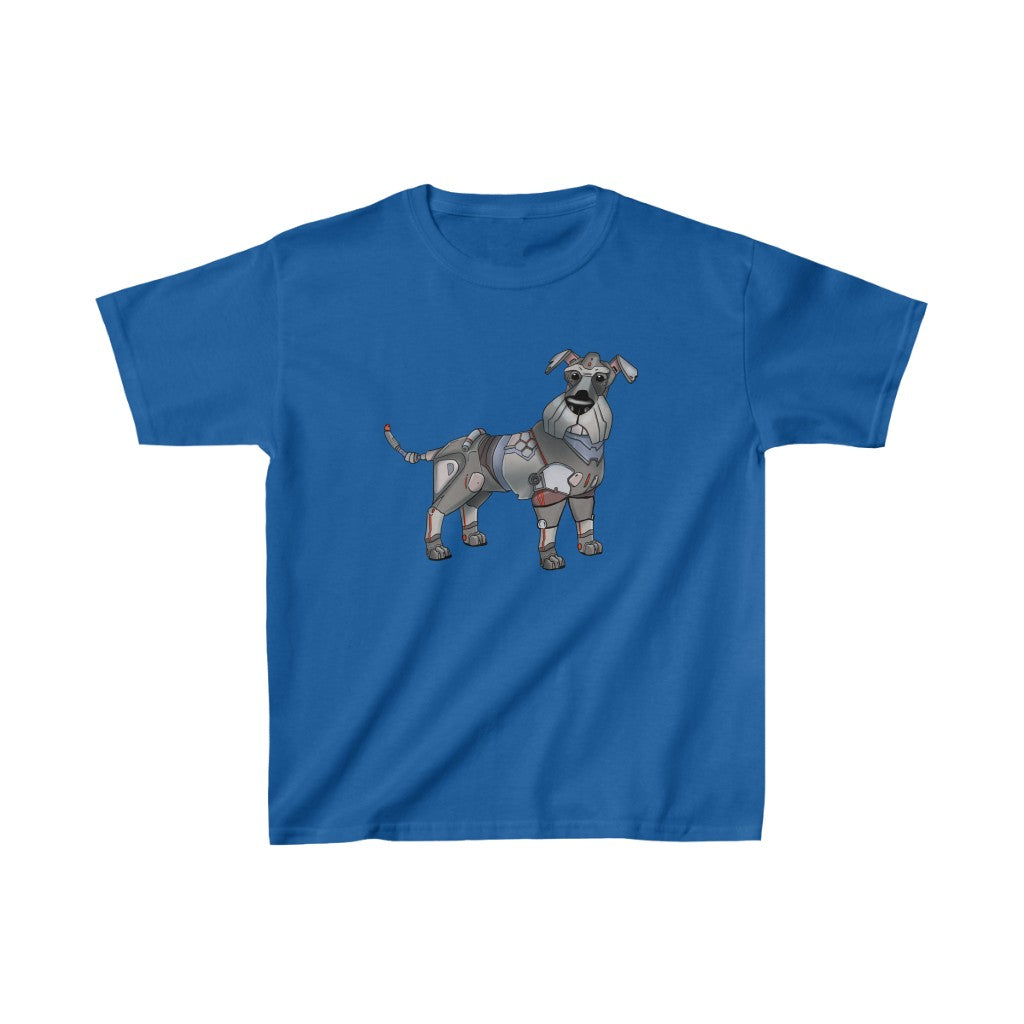 """Schnauzer Robot"" Kids Heavy Cotton™ T-Shirt (Youth)"