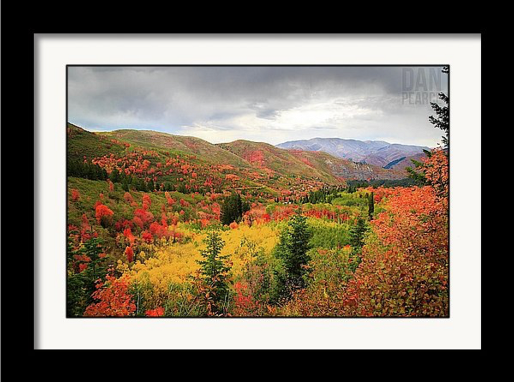 Photo Print: Autumn in the Wasatch Mountains