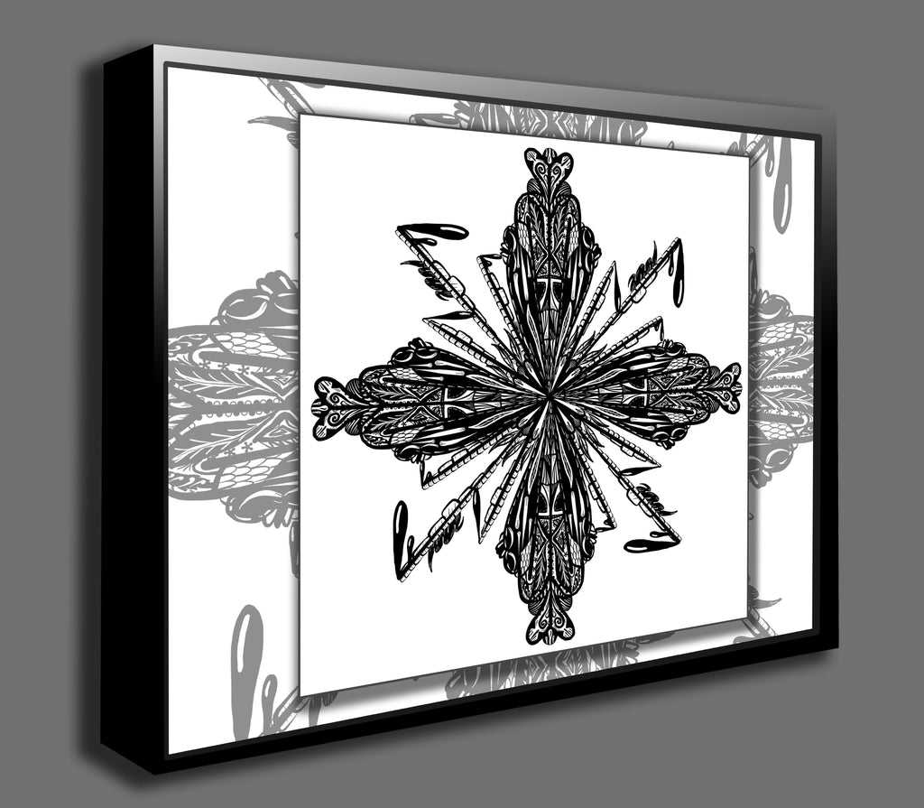 Dan Pearce's Mandala #2 Gallery Wrap Art Canvas