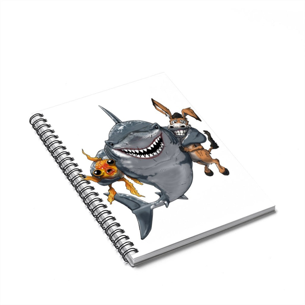"""A Poker Shark's Best Friends"" Designer Notebook for Poker Players - Dan Pearce Creative Shop"