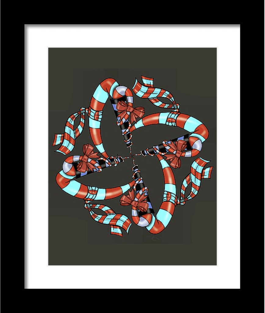 Abstract Art Print #10 - Dan Pearce Creative Shop