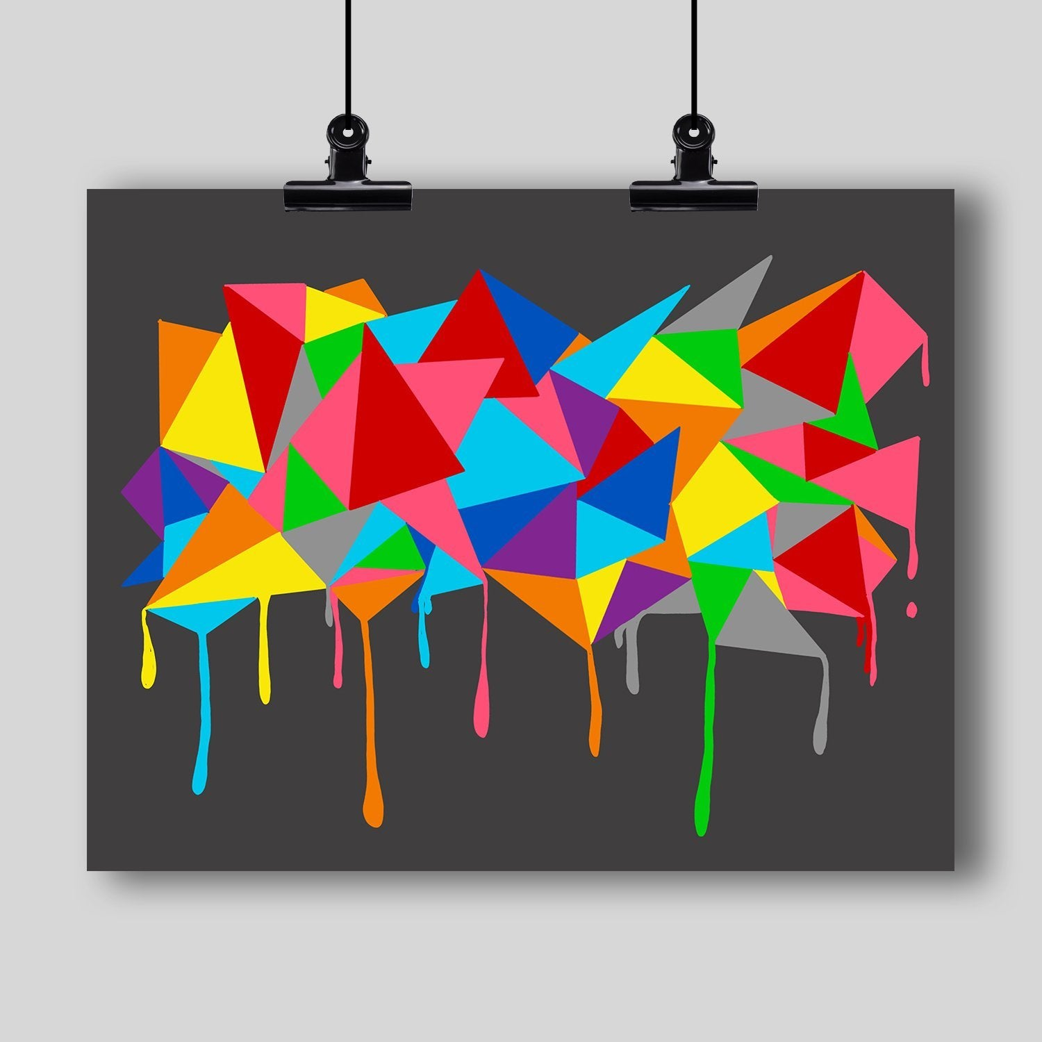 Abstract Art Print #11 - Dan Pearce Creative Shop