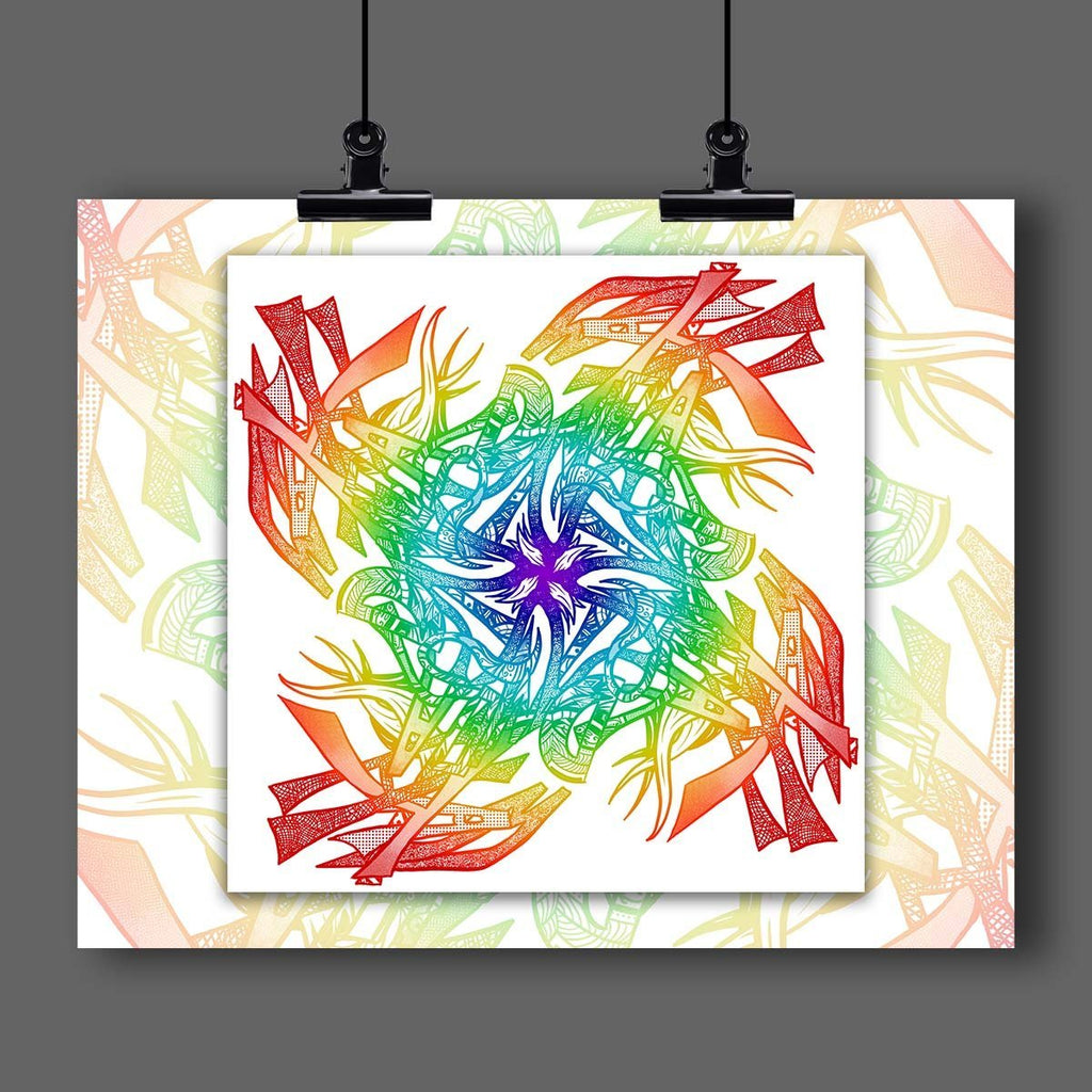 ALL 10 SPECIALTY Full-Resolution Digital Downloads of Your Custom Name Mandala Artwork - Dan Pearce Creative Shop