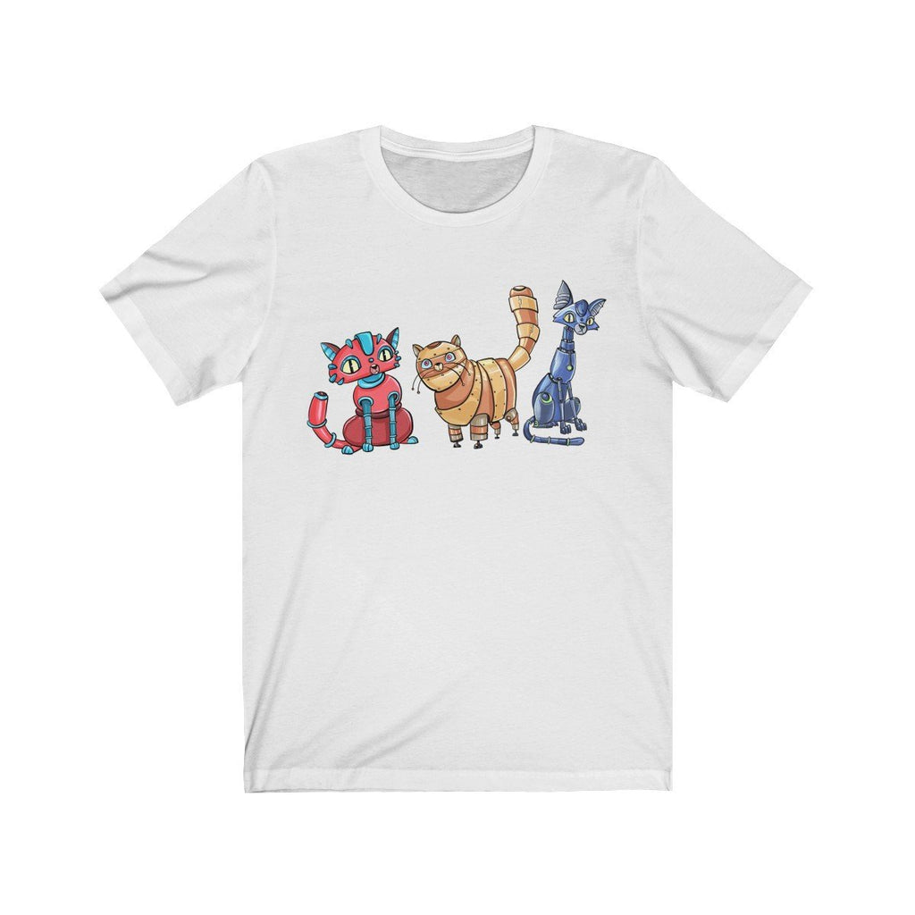 """All Robot Cats"" Premium T-Shirt - Dan Pearce Creative Shop"
