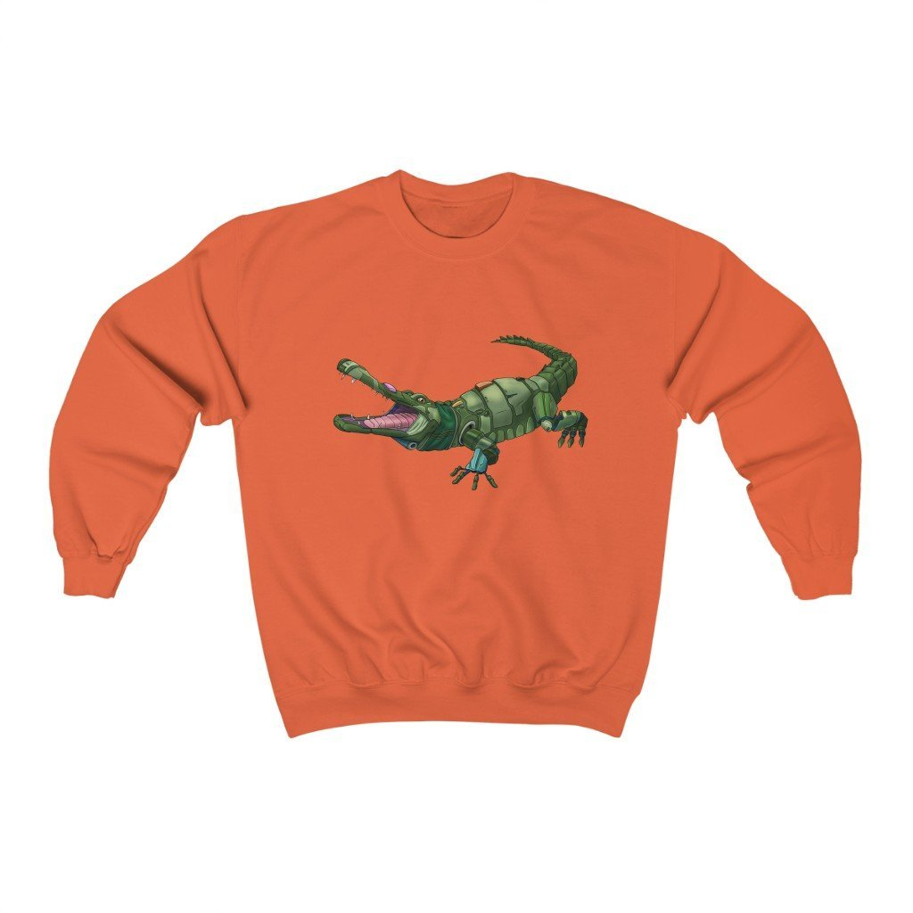 """Alligator Robot"" Crewneck Premium Sweatshirt - Dan Pearce Creative Shop"
