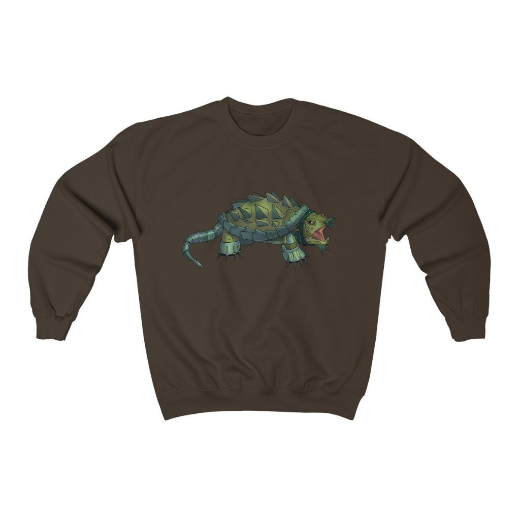 """Alligator Snapping Turtle Robot"" Crewneck Premium Sweatshirt - Dan Pearce Creative Shop"