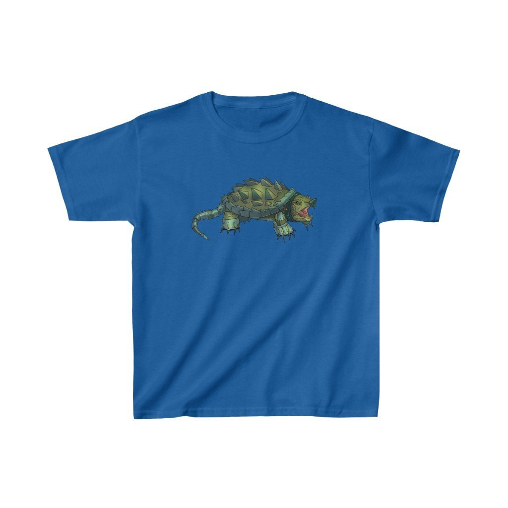 """Alligator Snapping Turtle Robot"" Kids Heavy Cotton™ T-Shirt (Youth) - Dan Pearce Creative Shop"