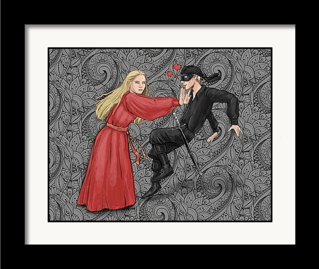 """As You Wish"" True Love Art Print #2 by Dan Pearce - Dan Pearce Creative Shop"
