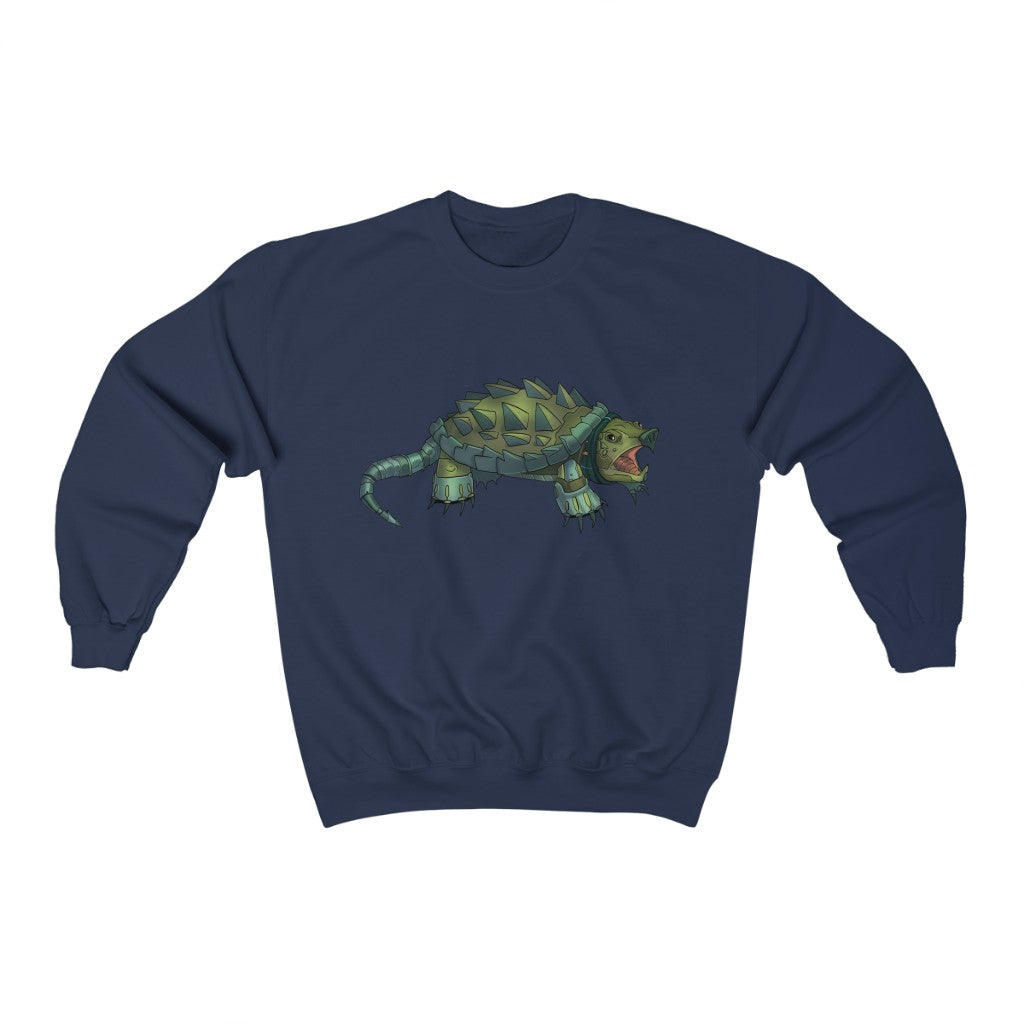 """Alligator Snapping Turtle Robot"" Crewneck Premium Sweatshirt"
