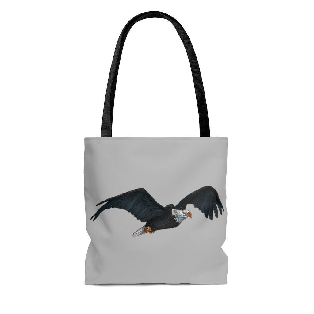 """Bald Eagle Robot"" Tote Bag - Dan Pearce Creative Shop"