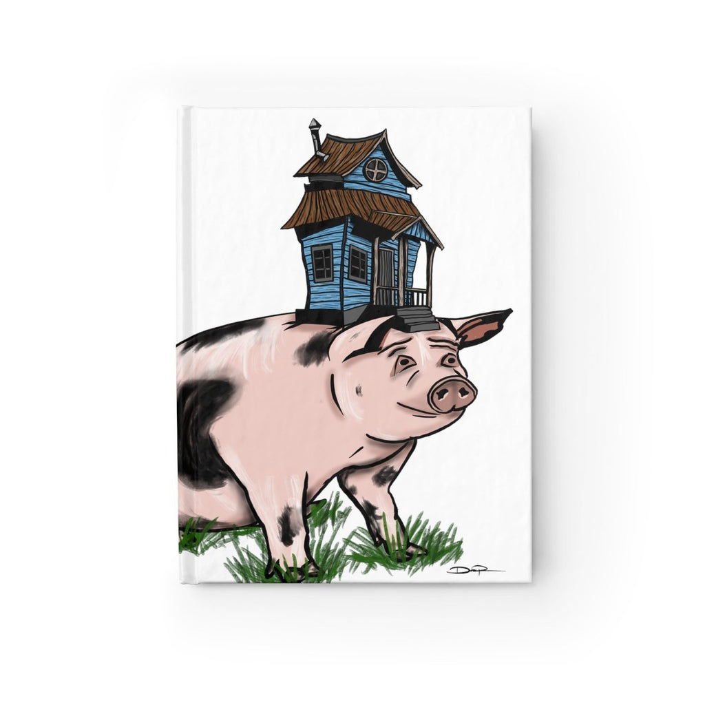 "Blank Journal - ""Living High on the Hog"" - Dan Pearce Creative Shop"